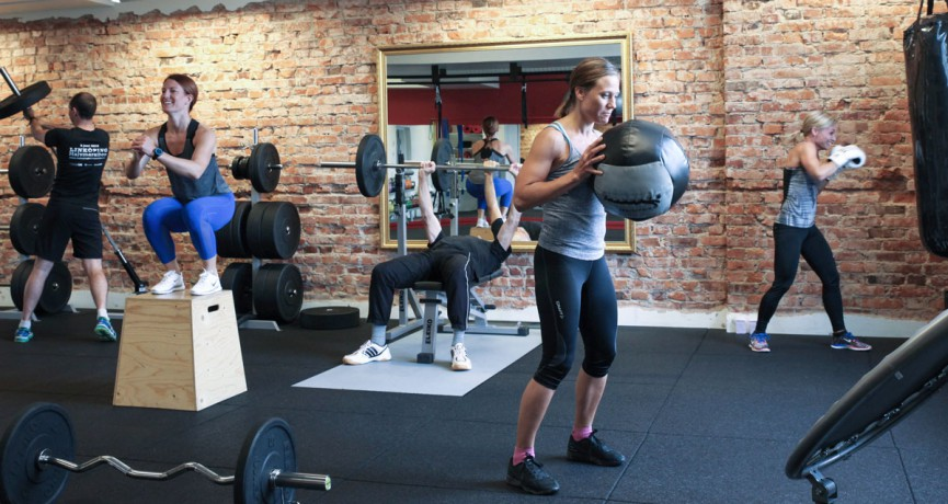 Fräsch träningsmiljö